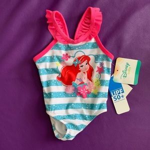 NWT 6-9 month Disney Little Mermaid Swimsuit